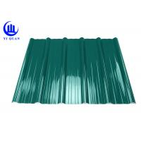 China Pvc Resin Plastic Roof Tiles Anti - Corrosive Multiayer Surface wholesale