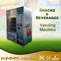 China Coins Acceptor Combination Vending Machine , Beverage Vending Machine Rental on sale