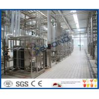 China Multifunctional Milk Production Machinery For Pasteurized UHT Milk / Cream / Butter wholesale