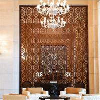 China China professional decorative metal work Stainless steel partition wall design on sale