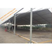 China Outdoor Industrial Warehouse Tent Aluminum Structure Waterproof 100 km / h Wind Resistance wholesale