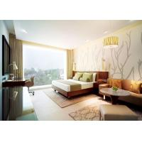 China Comfortable Commercial Hotel Furniture With Marble Top Coffee Table wholesale