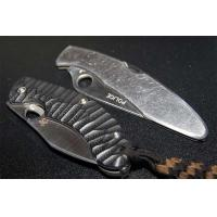 China Wholebody stainless steel with serrated blade hunting knife wholesale