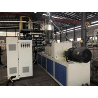 China Soft / Rigid PVC Sheet Extrusion Line 600mm 800mm Product Width For Printing Business Card wholesale