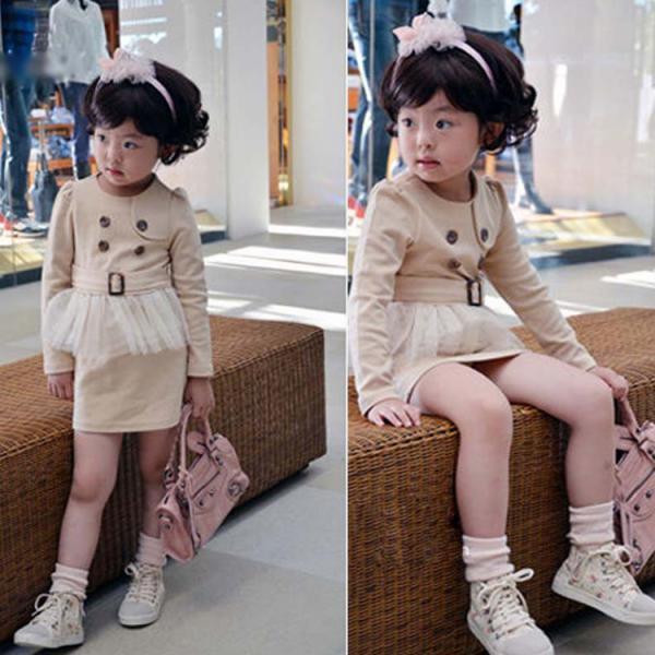 Fashion short skirt girls beauty dress