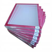 China Red Glue Pre-stretched Screen Printing Frame wholesale