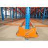 China High Density Storage Racks Radio Shuttle Racking Adjustable Baseplate Type 50 Meters Per Min wholesale