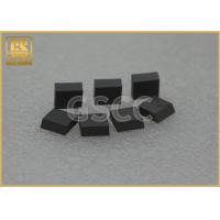 China Black Square Carbide Blanks / Industrial Tungsten Carbide Cutting Tools wholesale