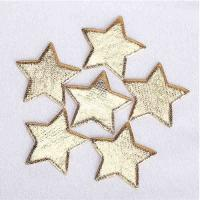 China Ultrasonic Embossing Sequin Appliques Use In Hair Pin Headband Accessories wholesale