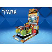 China Epark Malaysia Electronic coin operated racing car game Machine with interactive rocking seat on sale