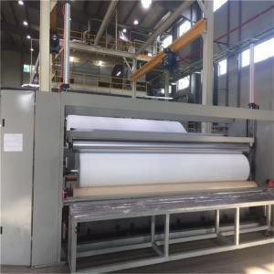 China Compact Construction Spunbond Nonwoven Machine , Non Woven Shopping Bag Making Machine wholesale