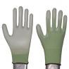 China 15g nylon nitrile coated glove dotted glove wholesale