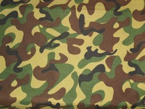 Quality Polyester/Cotton africa military combat camouflage fabric twill Traditionlly design for sale