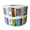 China Adhesive Custom Printed Custom Product Labels Waterproof On Rolls For Food Packaging wholesale