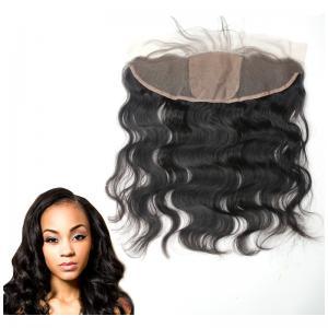 Buy cheap Oído al cierre bajo de seda del pelo del frente del cordón del oído con la onda from wholesalers