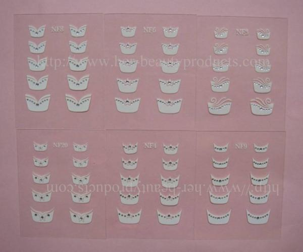 Quality French Nail Sticker , Nail decal(FNS-2) for Nail Art for sale