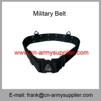 China Wholesale Cheap China Tactical PP Navy Blue Military Plastic Buckle Army Belt wholesale