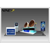 China Colorful Cabin 9D VR Game Machine / Virtual Reality Egg Chair wholesale