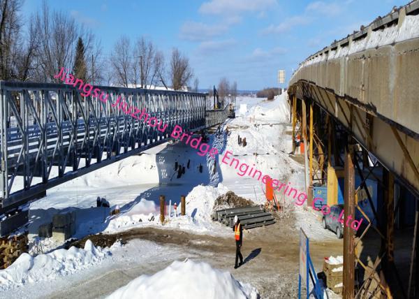 Quality Lightweight Delta Portable Steel Bridge Longer Term Permanent On Main Highways Rural Areas for sale