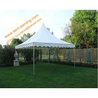 China High Peak Pole Tent, fireproof PVC, 3x3m, 4x4m, 5x5m, 6x6m, Rental  Tent wholesale