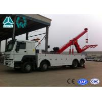SINOTRUK HOWO 6x4 Heavy Duty Wrecker Tow Truck For Car Accident