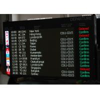 China P16 Full Matrix Airport Passenger Information LED Moving Sign VMS Modules Assembled on sale