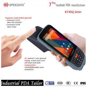 Buy cheap Biometrics Fingerprint Scanner with Long Range UHF RFID Reader and Barcode Scanner from wholesalers