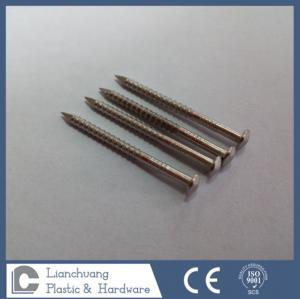 Buy cheap Ногти хвостовика кольца приемной сетки ранга нержавеющей стали A4 для древесины from wholesalers