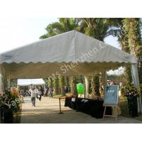 China Uvioresistant White PVC Fabric Cover Outdoor Event Tent with Roof Linings wholesale