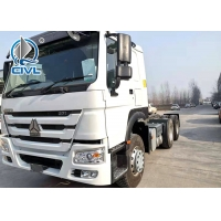 China Sinotruk Howo 6X4 Prime Mover Truck New Tractor Truck Head 10 Tires wholesale