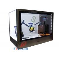 China Colorful Transparent LCD Display Touch Screen Transparent Monitor Acrylic + Aluminum Case wholesale