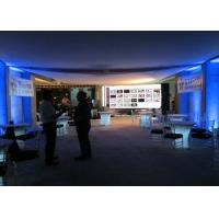 China HD P5.95 500x500mm Hire LED Screen with Slim LED Panel , Full Color LED Sign wholesale