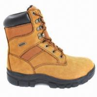 China Cow Leather Safety Boots with Cement Construction wholesale