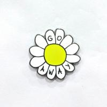 China 花の形の注文の折りえりは堅いエナメルの技術との小さい順序をピンで止めます wholesale