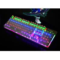 China Color Changing LED Backlit Keyboard Laptop Illuminated Keyboard Waterproof wholesale