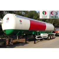 China 56000 Liters Transport LPG Gas Tanker Truck 25T Large Scale Crude Oil Tanker Truck wholesale