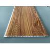 China Wood Transfer Printing 250mm Decorative PVC Panels Waterproof Ceiling wholesale