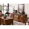 China 卸し売り現代角の設計小さい木TVのテーブル wholesale