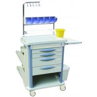 China 3 Drawers Nursing Medical Equipment Trolley ABS For Hospital , 870*520*950mm wholesale