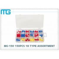 China MG - 150 Customized Wire Terminal Assortment Kit 18 Types Terminals / Disconnects With PO Box wholesale