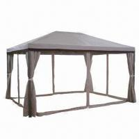 Quality 3 x 4 x 2.65m Deluxe Gazebo with Big Pole for sale