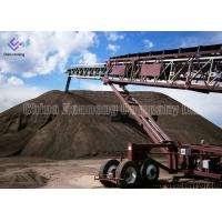 China Heat Resistant Portable Electric Conveyors , Coal Mining Industry Portable Conveyor Belt Systems wholesale
