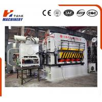 China High Effciency Automatic Furniture Lamination Machine Hydraulic Single Venner Hot Press on sale