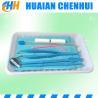 Disposable Medical oral care Instrument Kit, sterile Dental oral examination kit