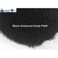 China Synthetic Black Aluminum Oxide Finish P40 / P60 / P80 / P120 For Making Sand Belts on sale