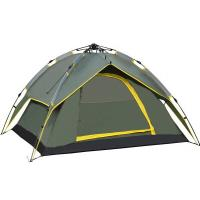 Quality 2015 new 3-4 person fully automatic tent outdoor hiking beach summer tent UV for sale