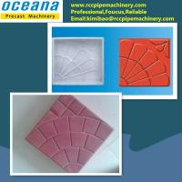 China Plastic mould for making concrete paving stone on sale