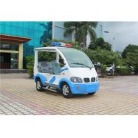 Buy cheap Blue / White Electric Golf Car With Toplight Fiber Glass 4 Seats For Resort from wholesalers