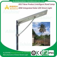 China China Supplier 12V 30W LED All in One Solar Street Light Price List wholesale