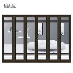 Smart Slimline Aluminium Bifold Doors / Commercial Aluminium Glass Folding Doors